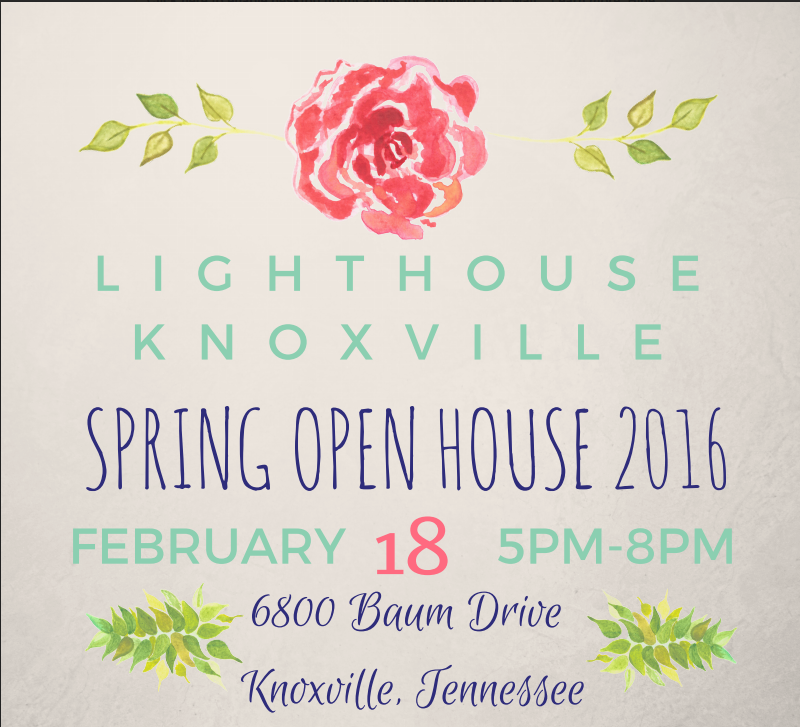 Lighthouse Knoxville Spring Open House 2016